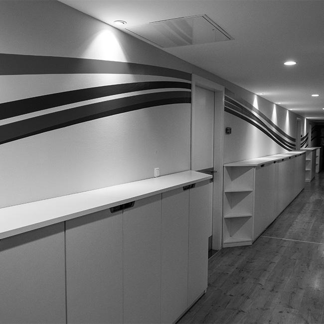 Iroda belsőépítészet